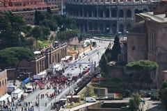 Rome Marathon Stock Photography