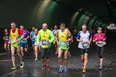 Rome maraton Arkivbilder