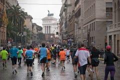 Rome maraton Arkivfoton
