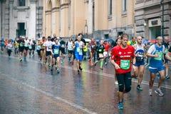 Rome maraton Arkivbild