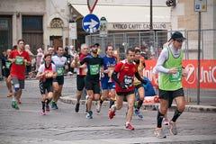 Rome maraton Royaltyfri Fotografi