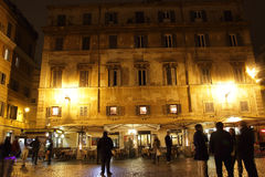 Night life in Trastevere Royalty Free Stock Images