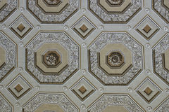 Rome Medieval Church ceiling. Rome Medieval Church saint peter dome Stock Image