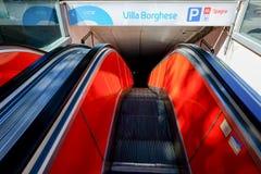 Rome Metro Royalty Free Stock Photo