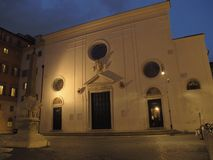 Rome minerva square stock images