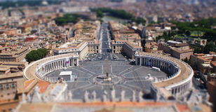 Rome in miniature Royalty Free Stock Photos