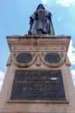 rome Monument till Giordano Bruno Royaltyfri Bild