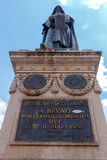 Rome. Monument to Giordano Bruno. Royalty Free Stock Image