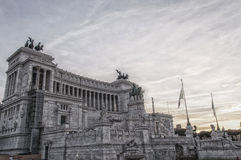 Rome Monument to Vittorio Emanuele II 01 Stock Images