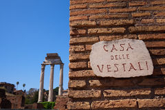 Rome Monuments Royalty Free Stock Image