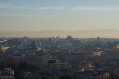 Rome morning overview Stock Photography