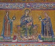 Rome - mosaic, Santa Maria in Trastevere Royalty Free Stock Photo