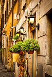 Rome narrow street Stock Photo
