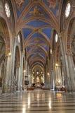 Rome - nave of Santa Maria sopra Minerva Royalty Free Stock Image