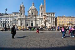 Rome,navona square Royalty Free Stock Photo