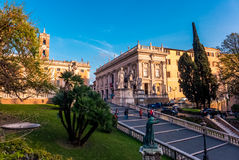 Rome, next to Piazza Venezia Stock Photography