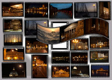 Rome by night Royalty Free Stock Photos