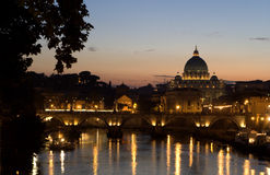 Rome in night Royalty Free Stock Images