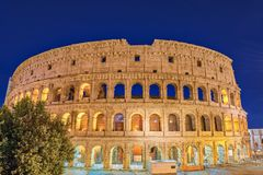 Rome Colosseum Italy Royalty Free Stock Photo