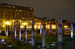 Rome, night cityscape Stock Photos