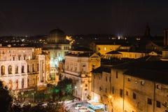 Rome at night. Italy Royalty Free Stock Image