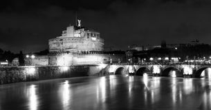 Rome by night. Italy Stock Photo
