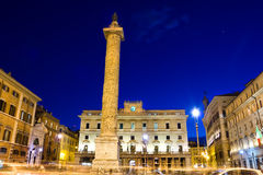 Rome night scene Stock Photography