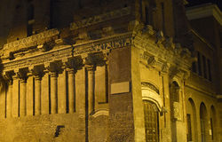 Rome By Night, Via Di Pone Rotto Stock Photo