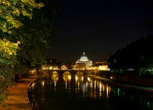 Rome at night. Stock Photography