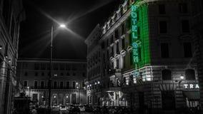 Rome Noire Photographie stock libre de droits