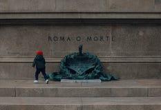 Rome o Morte royalty-vrije stock fotografie