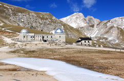 Rome Observatory in Gran Sasso Park, Italy Stock Image