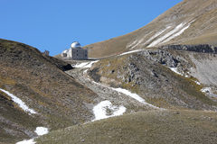 Rome Observatory in Italian Gran Sasso Park Stock Photos