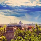 Rome och Sts Peter basilika Arkivfoton