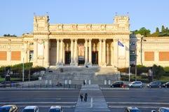 ROME-OCTOBER 6 :圆顶场所Nazionale d'Arte Moderna或现代艺术国家肖像馆2011年10月6日的在罗马,意大利。 免版税图库摄影