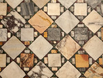 Rome - old mosaic floor from Sam Cerisogono Stock Images