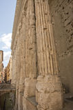 Rome old roman columns Royalty Free Stock Images