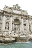 Rome One of the most famous landmarks - Trevi Foun Stock Images