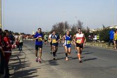 Rome-Ostia half marathon Royalty Free Stock Photo