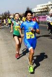 Rome-Ostia halv maraton Royaltyfria Foton