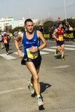 Rome-Ostia halv maraton Royaltyfri Foto