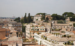 Rome - outlook from Palatine hill Royalty Free Stock Image