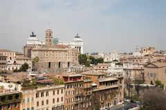 Rome - outlook from Palitne hill Royalty Free Stock Photography