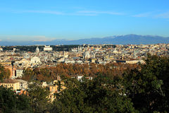 Rome overview Royalty Free Stock Photos