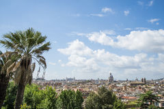 Rome overview Royalty Free Stock Photography