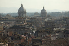 Rome overview with monument Stock Photography
