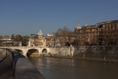 Rome overview with monument Royalty Free Stock Photos