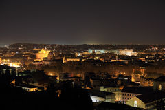 Rome overview at night Royalty Free Stock Image