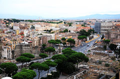 Rome overview Stock Images