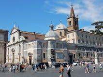 Rome - påvlig basilika av Santa Maria Maggiore Arkivbilder